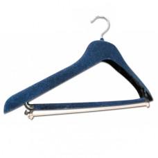 Rubber on shoulder straps